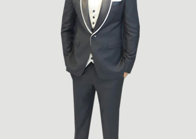 Tailors in Dubai, 2 pc Tuxedo contrast lapel, Suits and Shirts