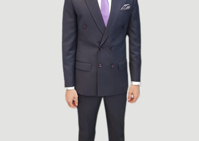 2 Pc Double Breasted Suit,Tailors in Dubai, SuitsAndShirts.ae,1