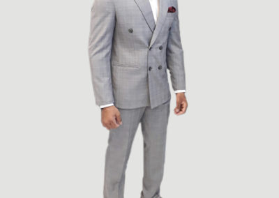 2 Pc Double Breasted Suit,Tailors in Dubai, SuitsAndShirts.ae,2